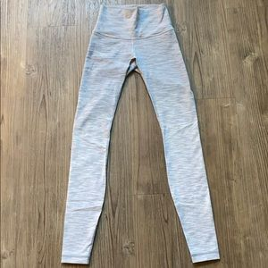 LuluLemon Gray Ombré Leggings